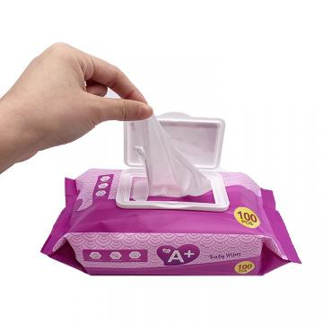 Wholesale Customized Personalized Single Pack Cleaning Wet Wipe
