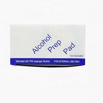 OEM Brand of Individual Package Portable Alcohol Prep Pads