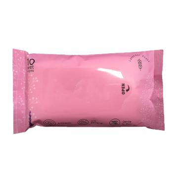 Household Use Sterilization Rate 99.9% Alcohol-Free Wet Wipes
