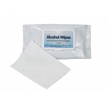 Medical Grade 70 Alcohol Antibacterial Desinfect Hand Wet Wipe Logo with Alcohol in Bulk
