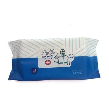 Portable Non-Alcoholic Spunlace Cleaning Baby Wet Wipes