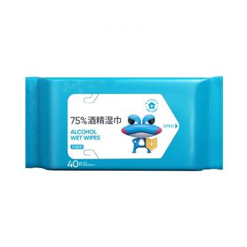 OEM alcohol cleaning wipes wet towel non-woven