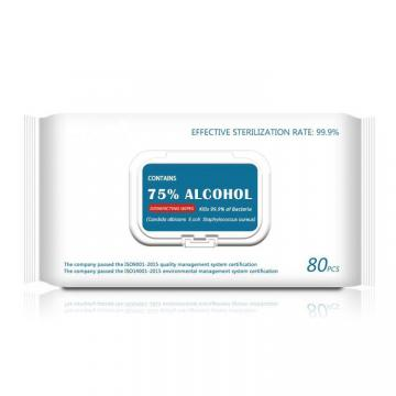75% Alcohol Disposable Cleaning Wet Wipes
