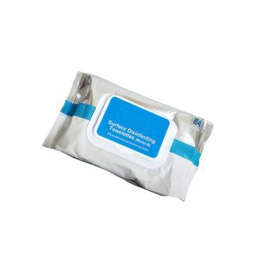 Alibaba select 75% Alcohol Wipes Disinfectant Wipes 300pcs in Canister for US/EU market