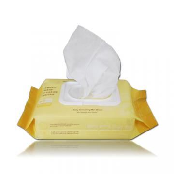 100% Bamboo Comfort Touched Cleaning Moist Wet Baby Wipes