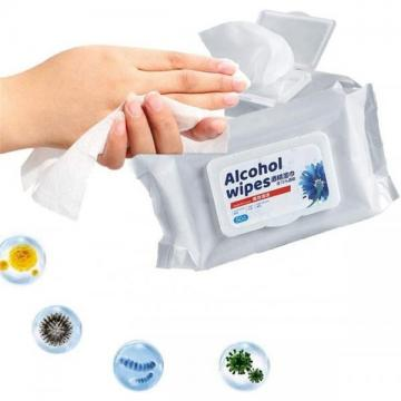 Wholesale Sanitary Wet Wipes Alcohol Disinfectant 99.9% Bacteria Alcohol Wipe