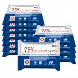 Disinfection alcohol single wet wipes /OEM alcohol pad
